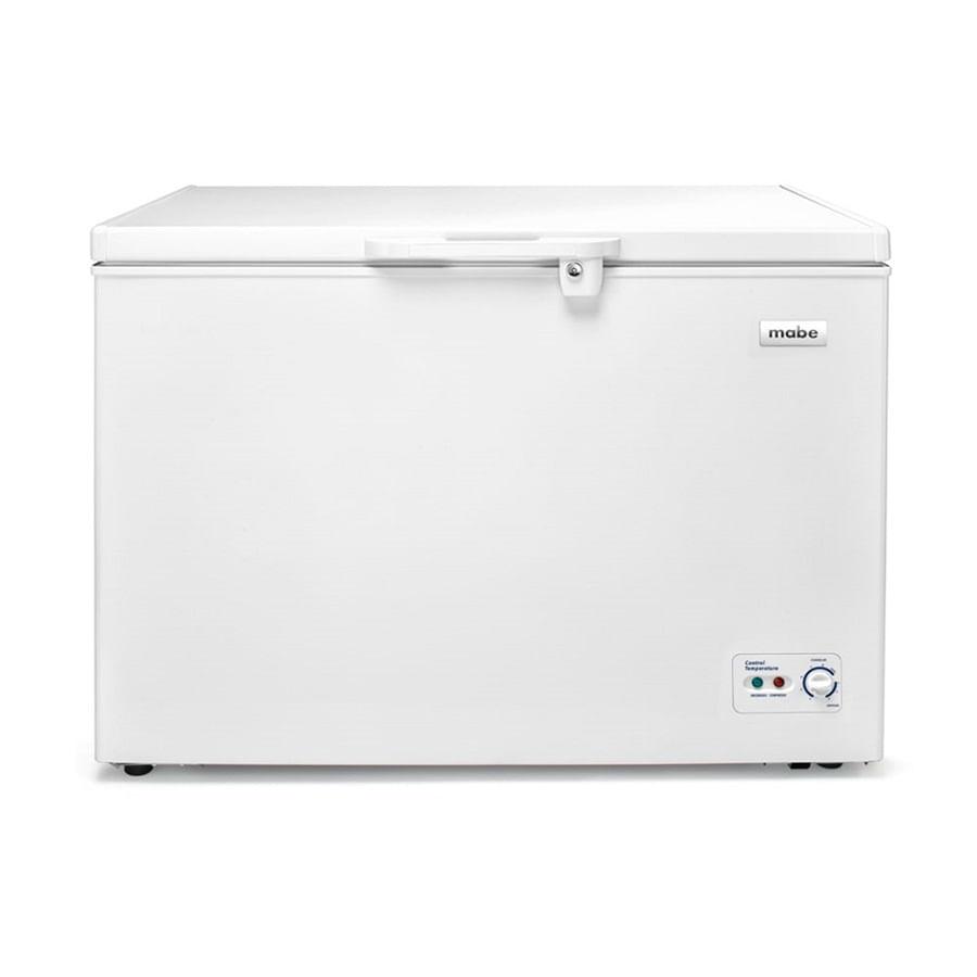 Congelador-Horizontal--MABE--300-Lts-Brutos-Blanco---ALASKA300B3