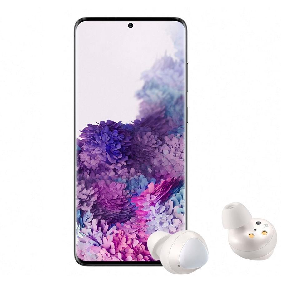 Celular-SAMSUNG-Galaxy-S20-Grey---Galaxy-Buds-White