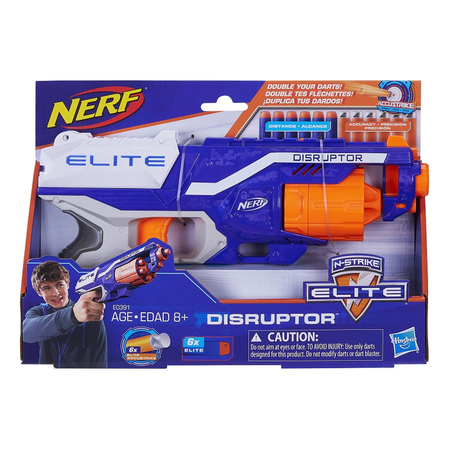 Nerf-Elite-Disruptor-Doble-Dardos