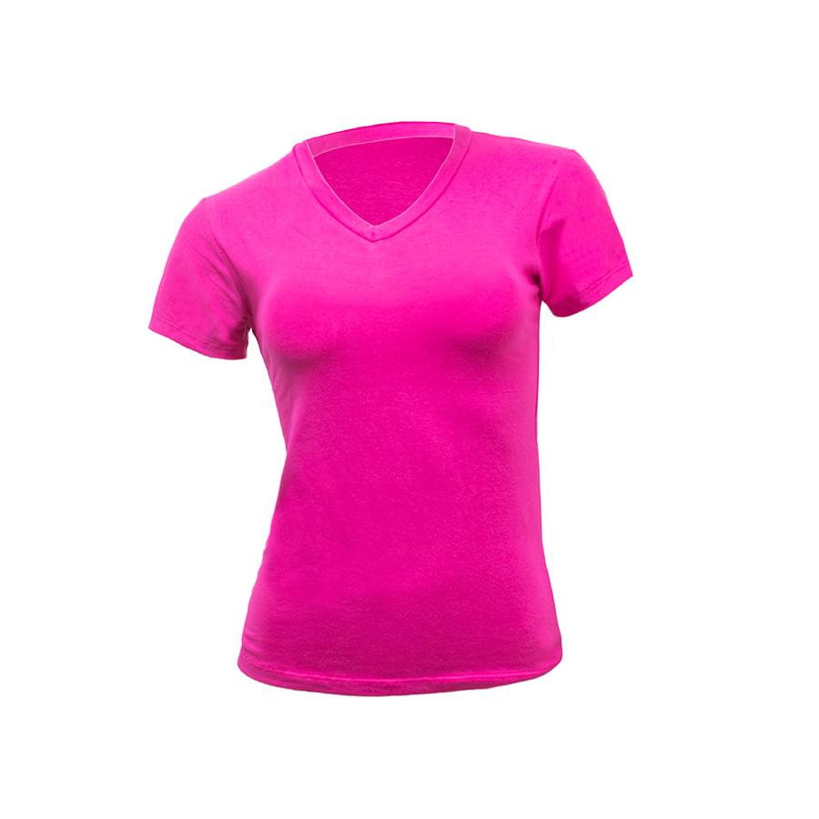 Camiseta-DAKOTA-talla-S---liso-Fucsia