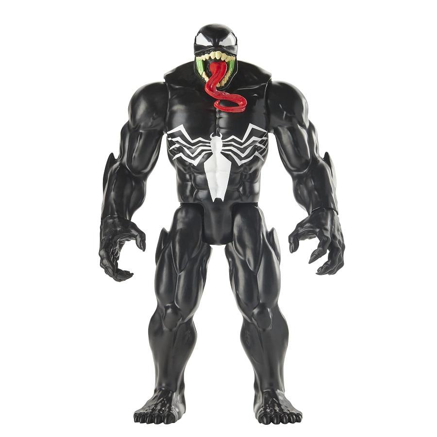 SPIDER-MAN--Venom-Deluxe-Titan-Hero
