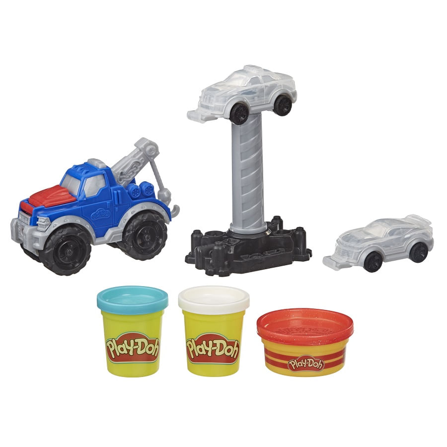 PLAY-DOH--Wheels--Camion-Grua