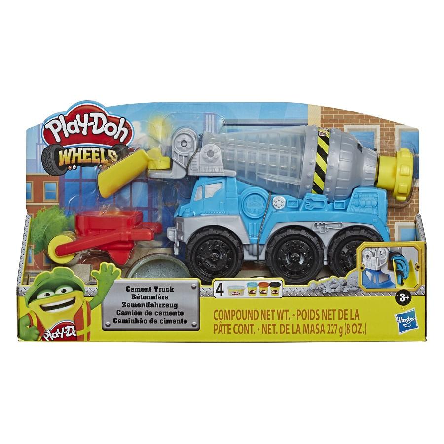 PLAY-DOH--Wheels-Camion-De-Cemento