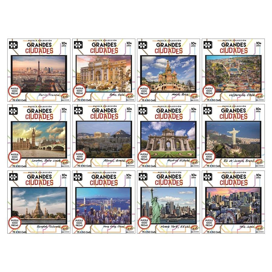 ROMPECABEZAS--1000-Pzs--Grandes-Ciudades-Del-Mundo