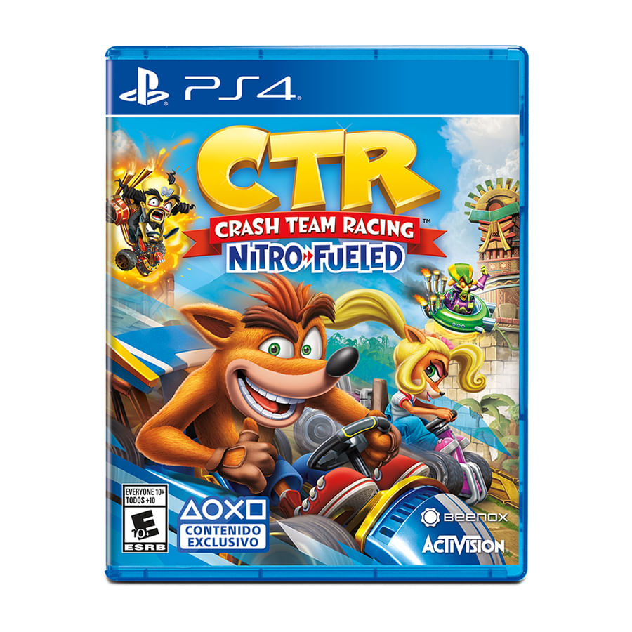 Juego-PS4-Crash-Team-Racing