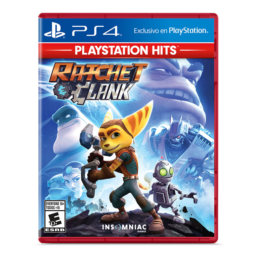 Juego-PS4-Siea-Ratchet---Clank-Hits