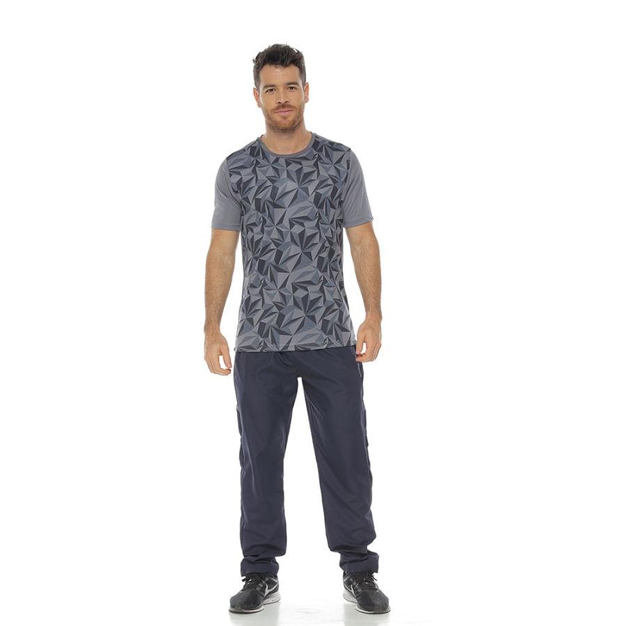 Camiseta--DAKOTA--Gris-claro--Talla-M--Liso