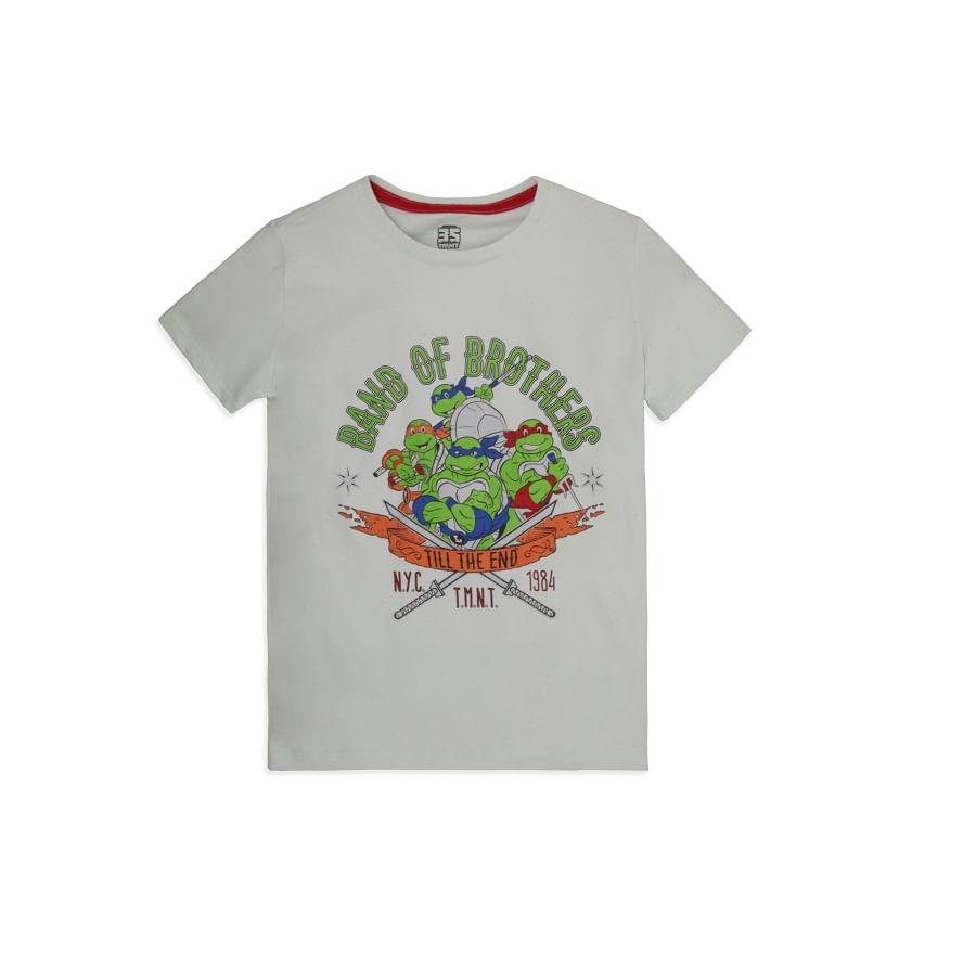 Camiseta--TORTUGA-NINJA-Talla-10---Estampada