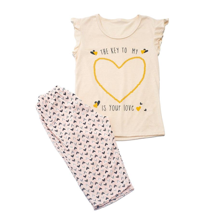 Pijama-capri--PROVOCAME--Marfil--11125-Talla-XL--Liso