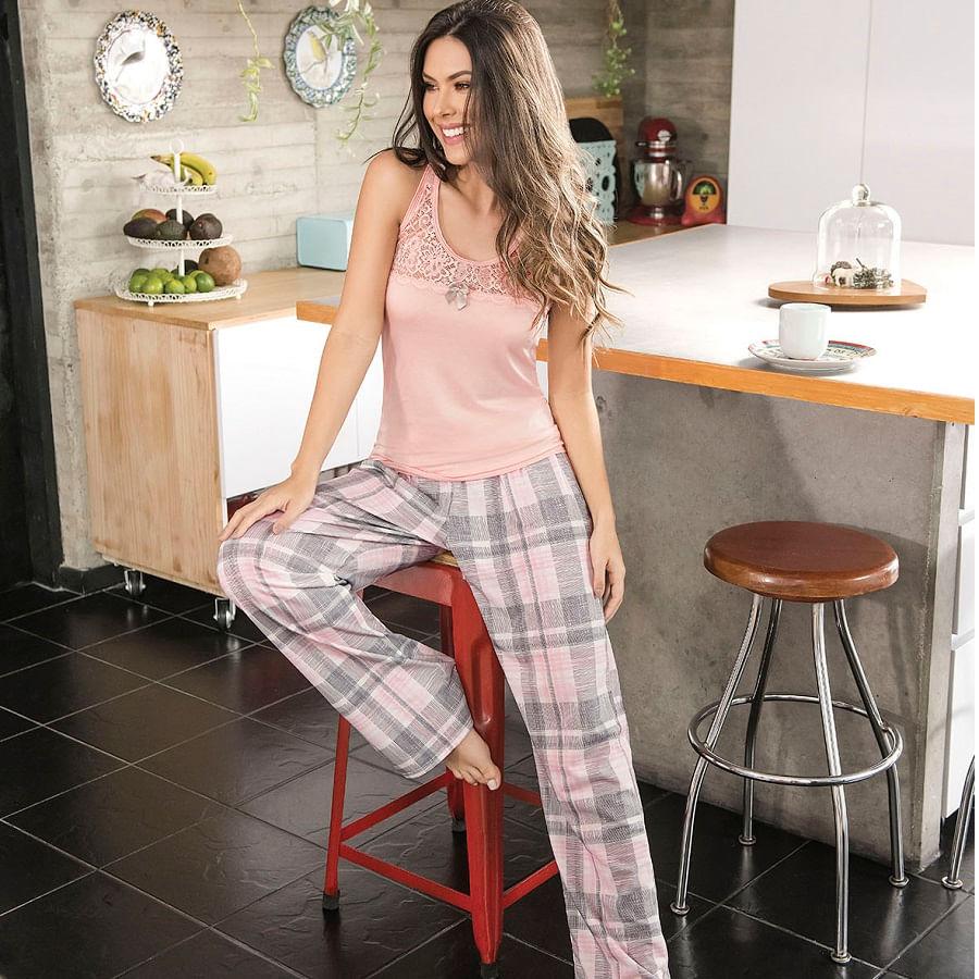 Pijama-pantalon--PROVOCAME--Palo-de-rosa--11134-Talla-M--Cuadros