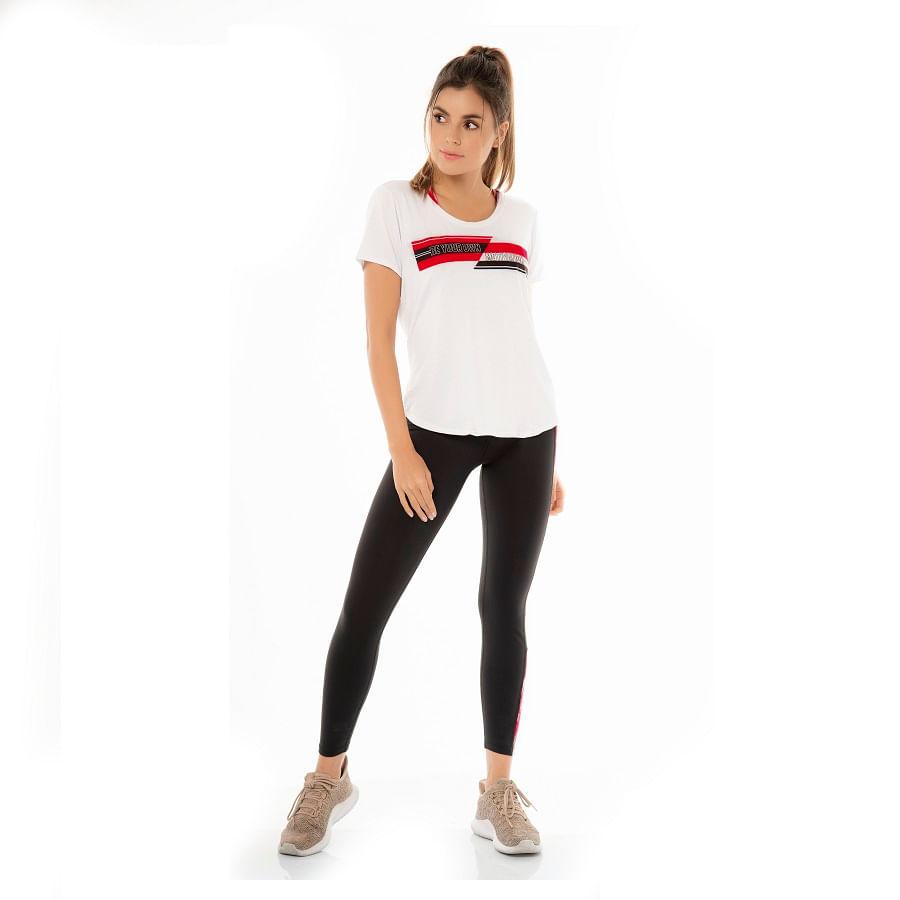 Camiseta-CHAMELA--25863-Blanco--Talla-M--Liso