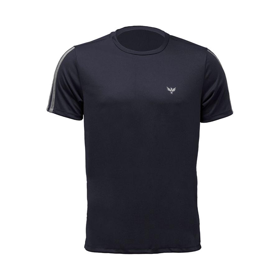 Camiseta--DAKOTA--Negro-Talla-M--Liso