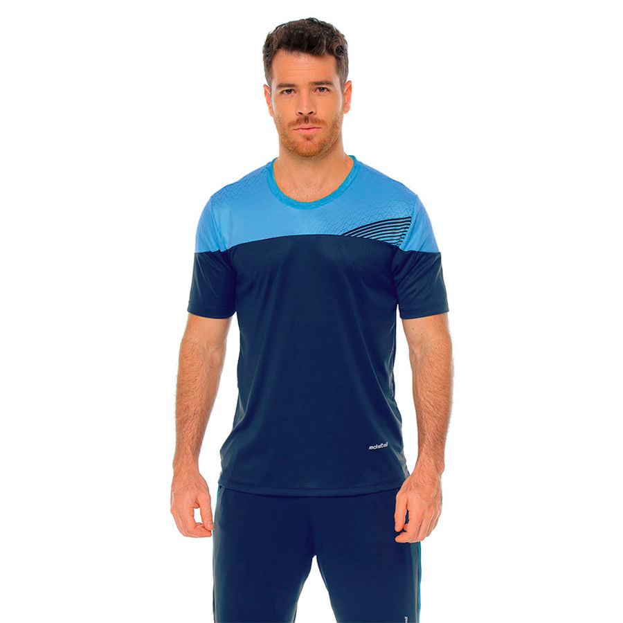 Camiseta-RACKETBALL--3466-Turquesa--Talla-Ñ----Liso