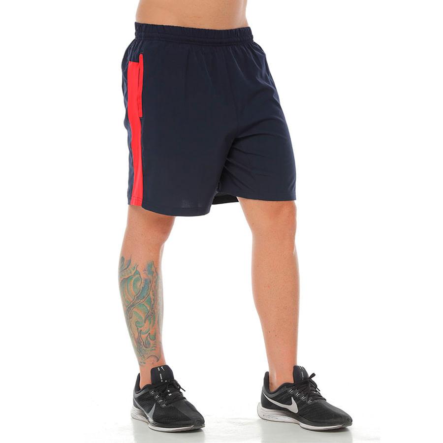 Pantaloneta-RACKETBALL--21112-Azul--Rojo---Talla-L----Liso