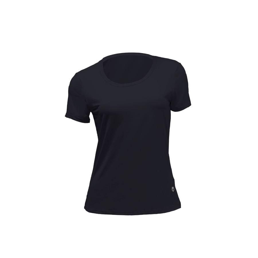 Camiseta-DAKOTA-Negro---Talla-S---Liso
