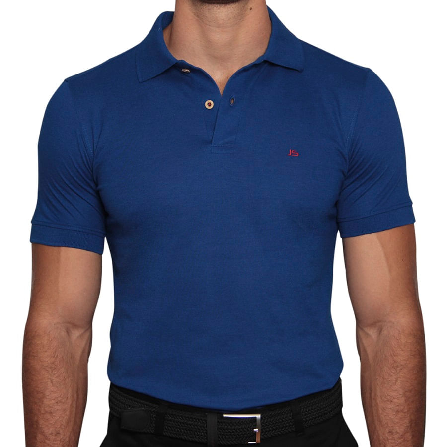 Camiseta-Polo-JSN-Azul