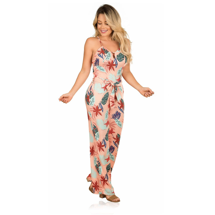 Enterizo-Largo-Estampado-Tropical-Talla-M