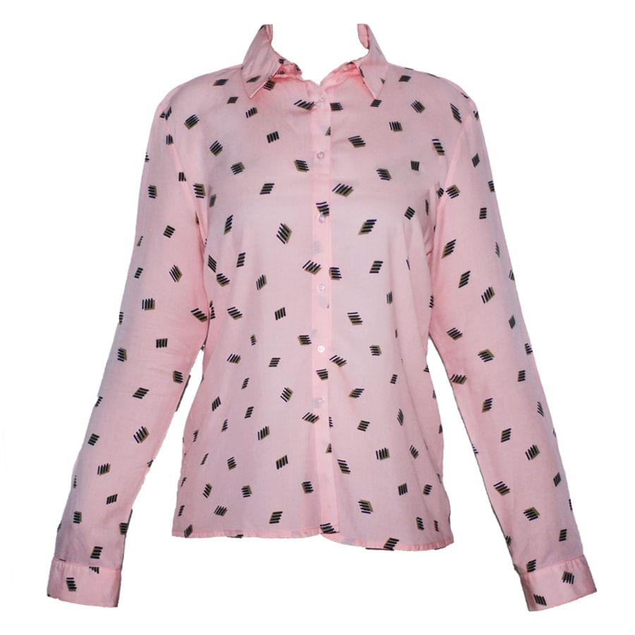 Camisa-manga-Larga-Rosada-Talla-M