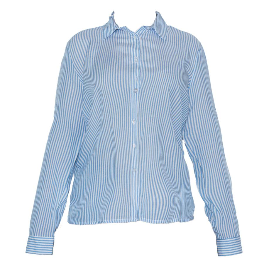 Camisa-STYLE-Rayas-Azul-Talla-XL