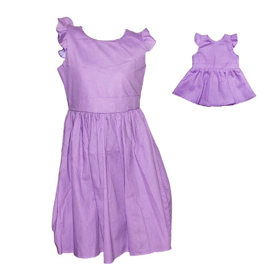 Vestido-Botones-MI-MUÑECA-Y-YO-Talla-6