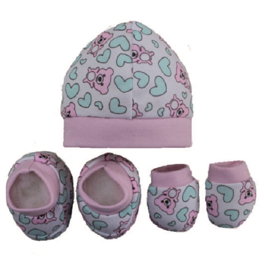 Set-Gorro-Escarpines-Manoplas-DAKOTA-Corazones