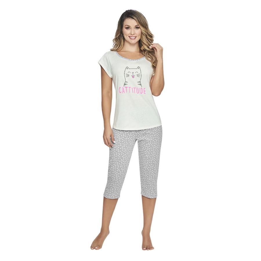Pijama-Capri-Cattitude-Talla-L