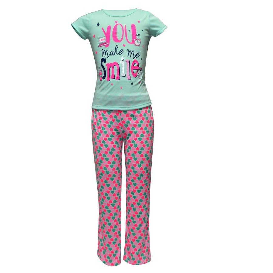 Pijama-Pantalon-Corazones-Talla-6