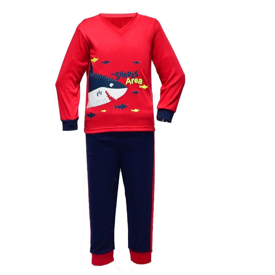 Pijama-Buzo-Tiburon-Talla-4T