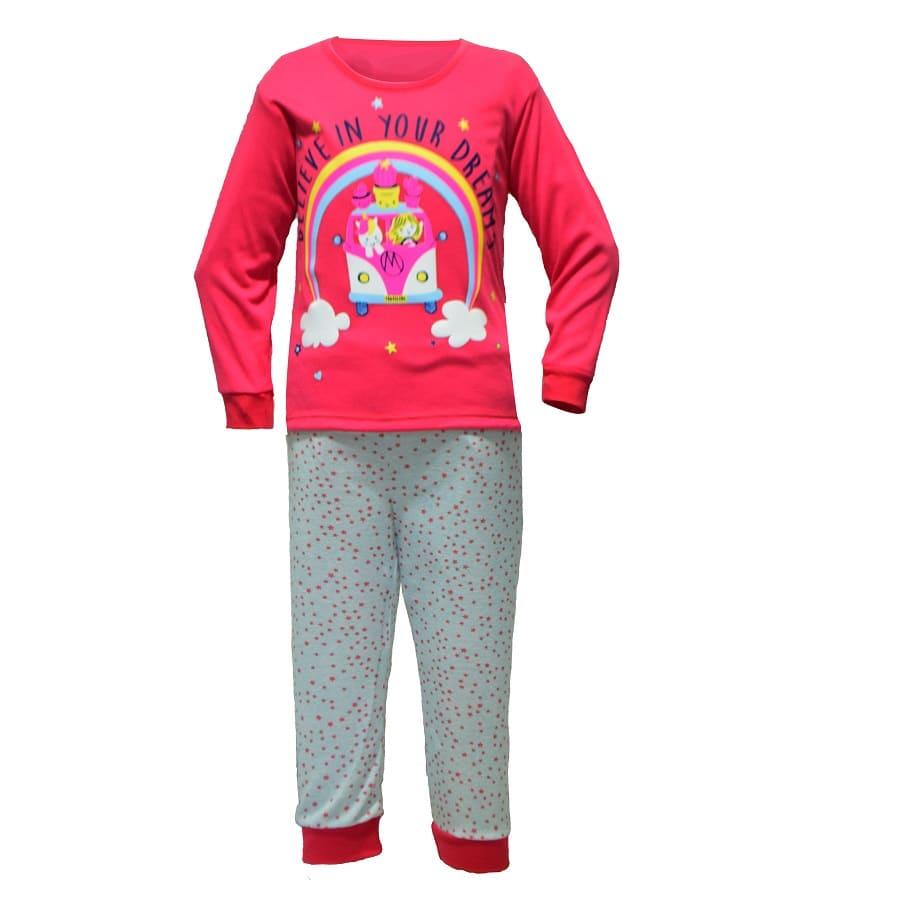 Pijama-Buzo-Puntos-3T