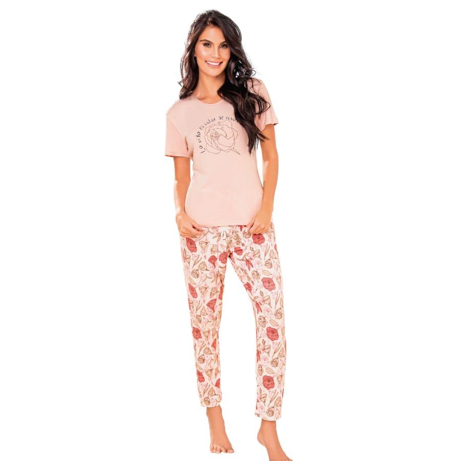 Pijama-Pantalon-CHER-Estampado-Talla-L