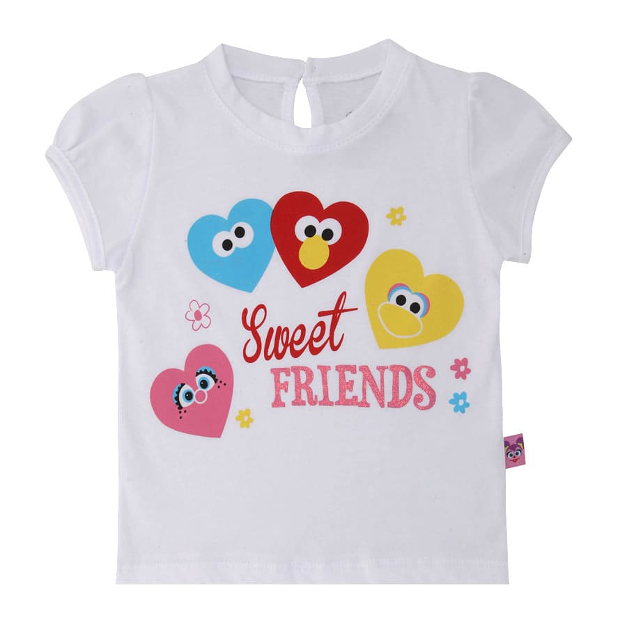 Camiseta-Sweet-Friends-Talla-12-18M