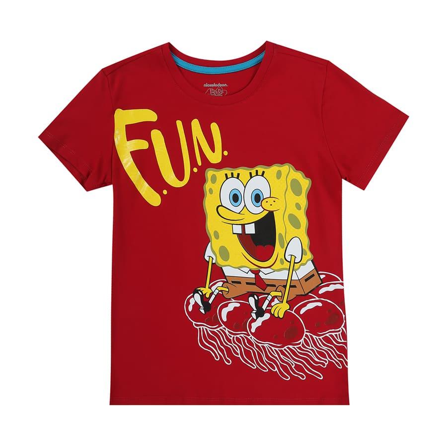 Camiseta-BOB-ESPONJA-Fun-Talla-12