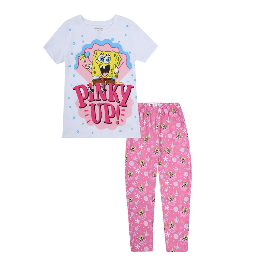 Pijama-Pantalon-BOB-ESPONJA-Talla-10