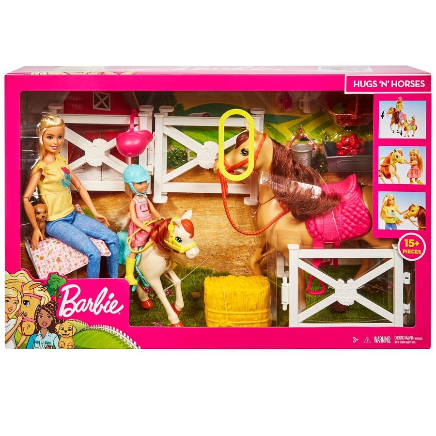 Barbie-Y-Chelsea-Diversion-Con-Caballos