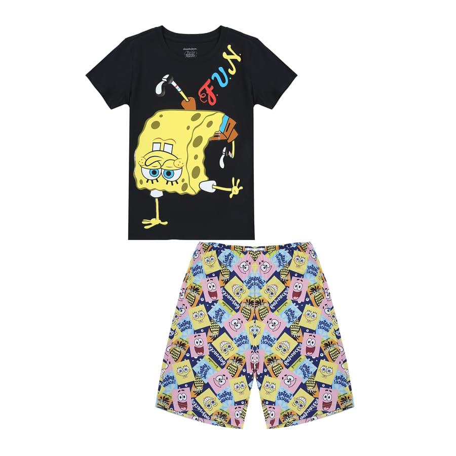 Pijama-Short-BOB-ESPONJA-Talla-10