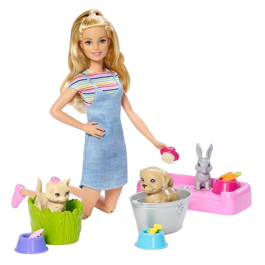 Barbie-Baño-De-Perritos