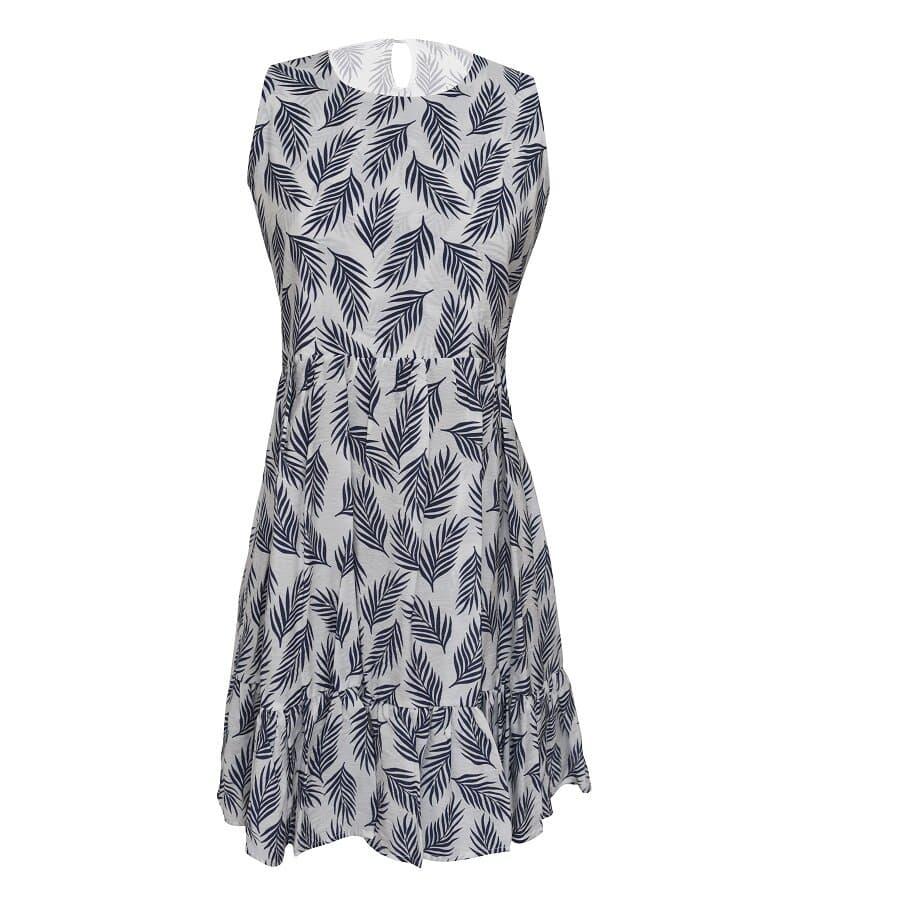 Vestido-BYOUNG-estampado-Tropical---Blanco--Talla-S