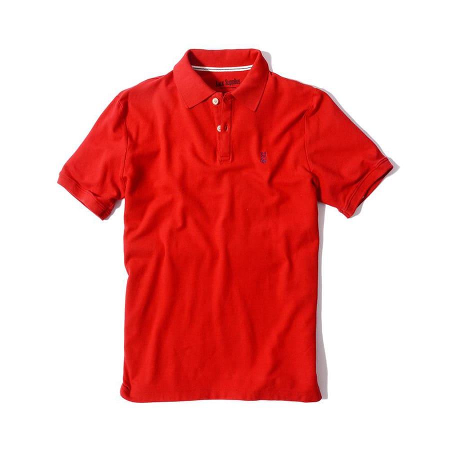 Camiseta-JACK-SUPPLIES--Rojo--Talla-M