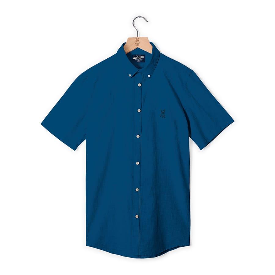Camisa--JACK-SUPPLIES-Lisa--Azul--Talla-M