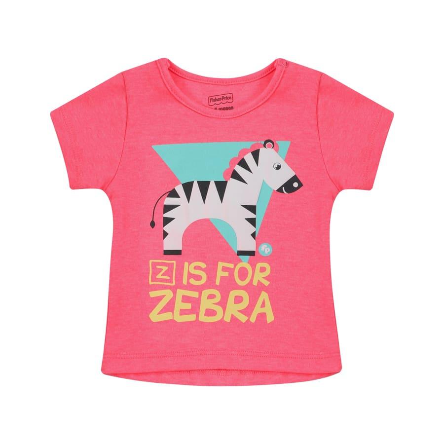 Camiseta-FISHER-PRICE-Z-For-Zebra-Talla-6-12M