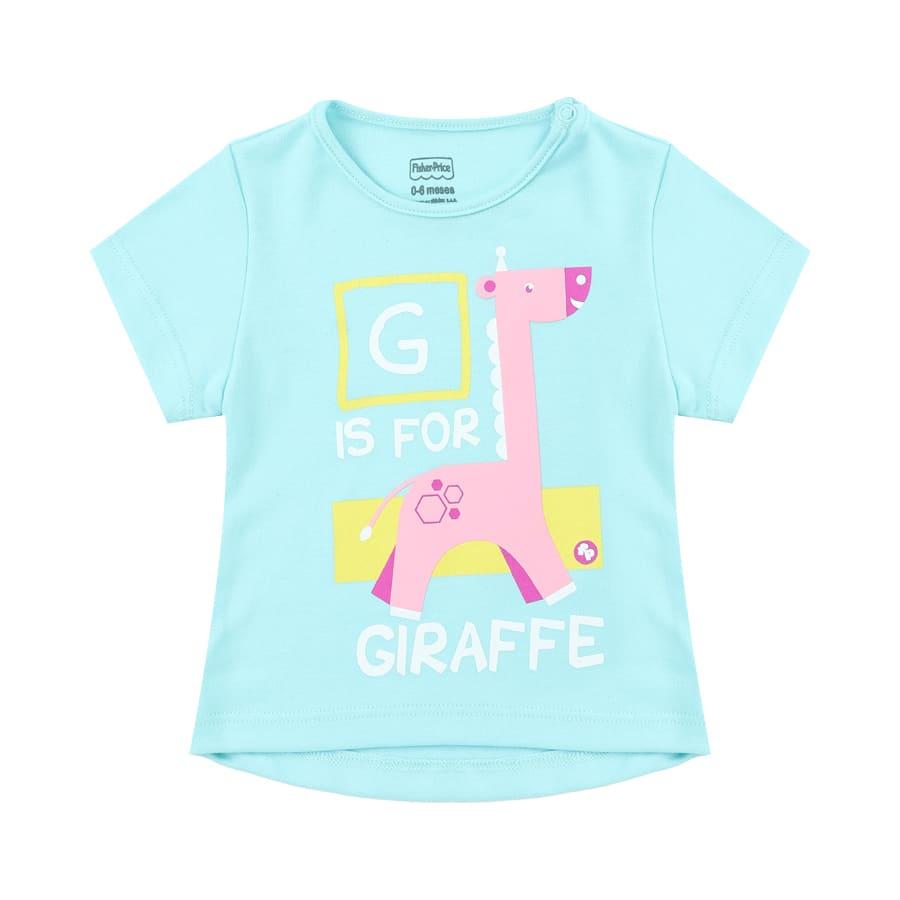 Camiseta-FISHER-PRICE-G-For-Giraffe-Talla-6-12M