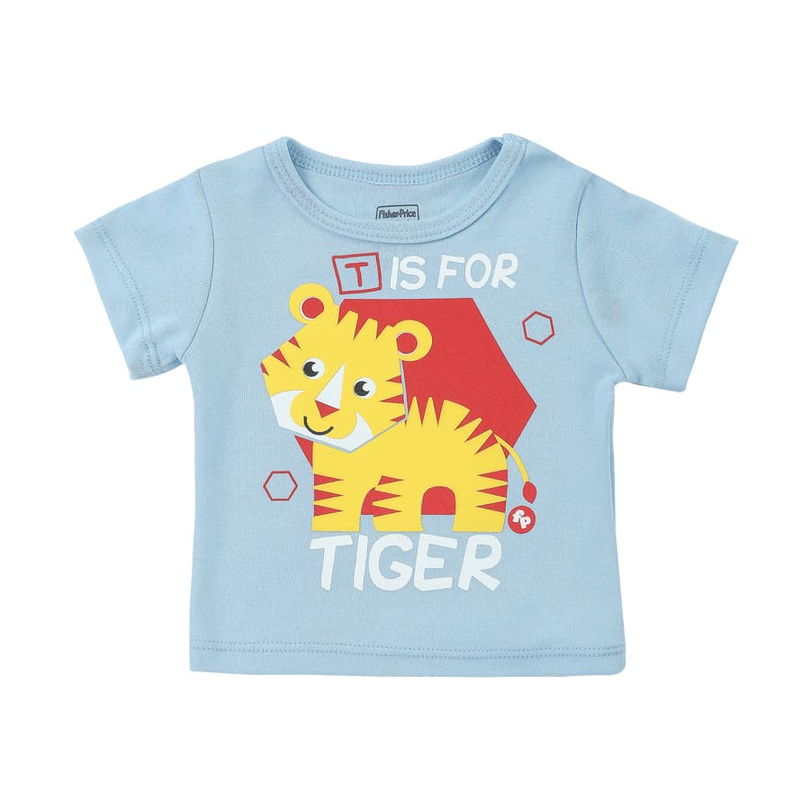 Camiseta-FISHER-PRICE-T-For-Tiger-Talla-3T