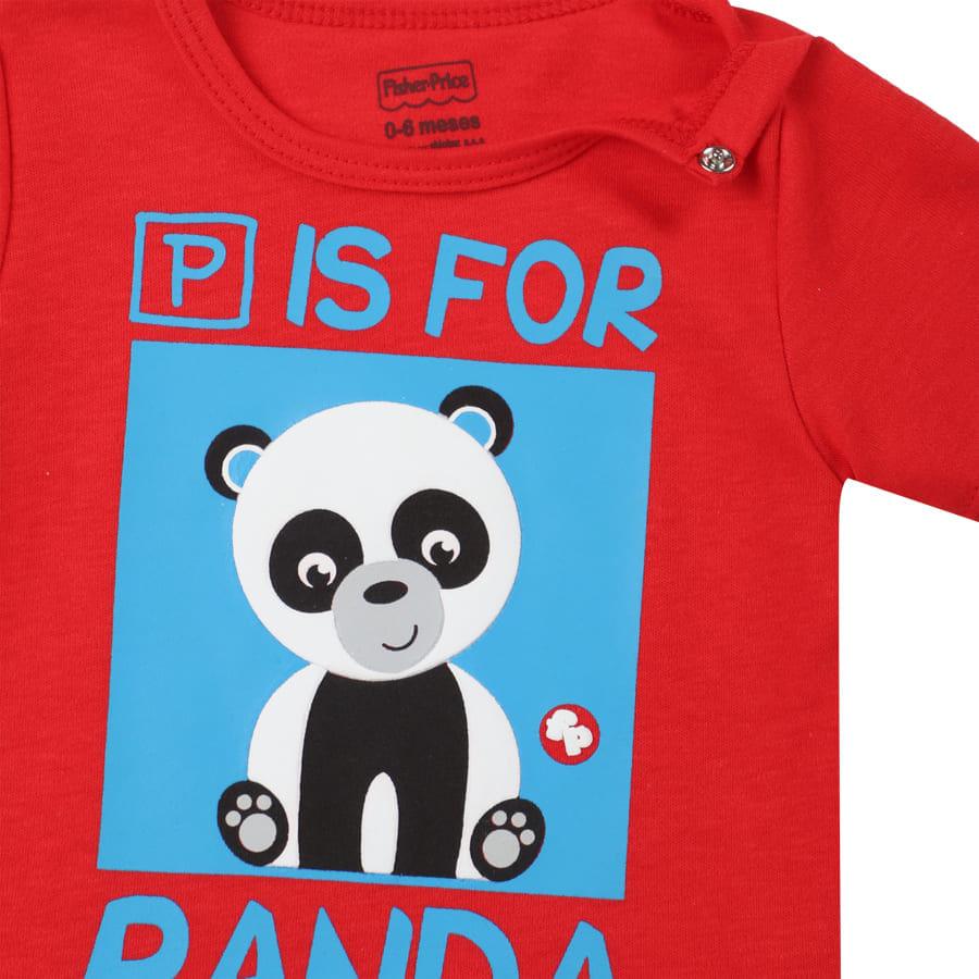 Camiseta-FISHER-PRICE-P-For-Panda-Talla-6-12M