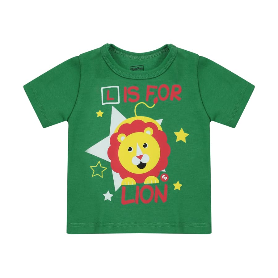 Camiseta-FISHER-PRICE-L-For-Lion-Talla-4T