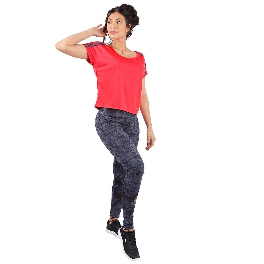 Camiseta--Deportivo-DAKOTA-Manga-corta-Rojo--Talla-L