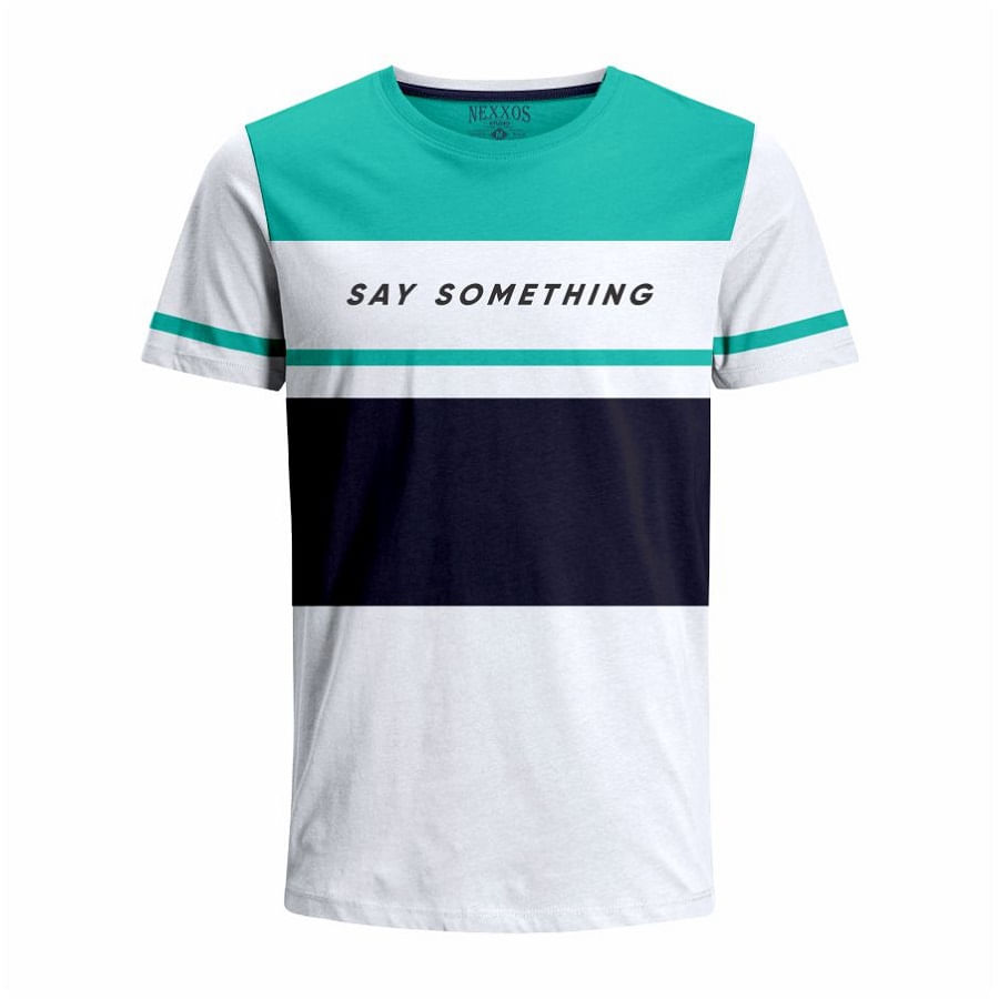 Camiseta--NEXXOS-Say-Something-Talla-M