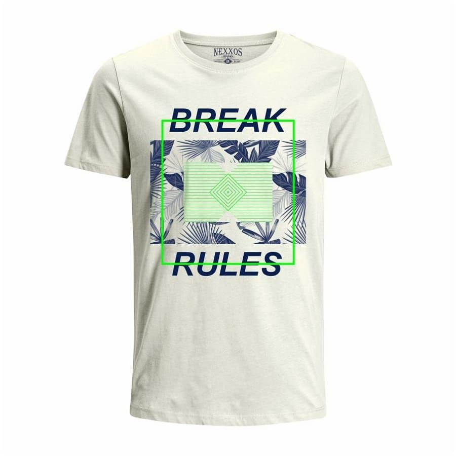 Camiseta--NEXXOS-Break-Rules-Talla-L