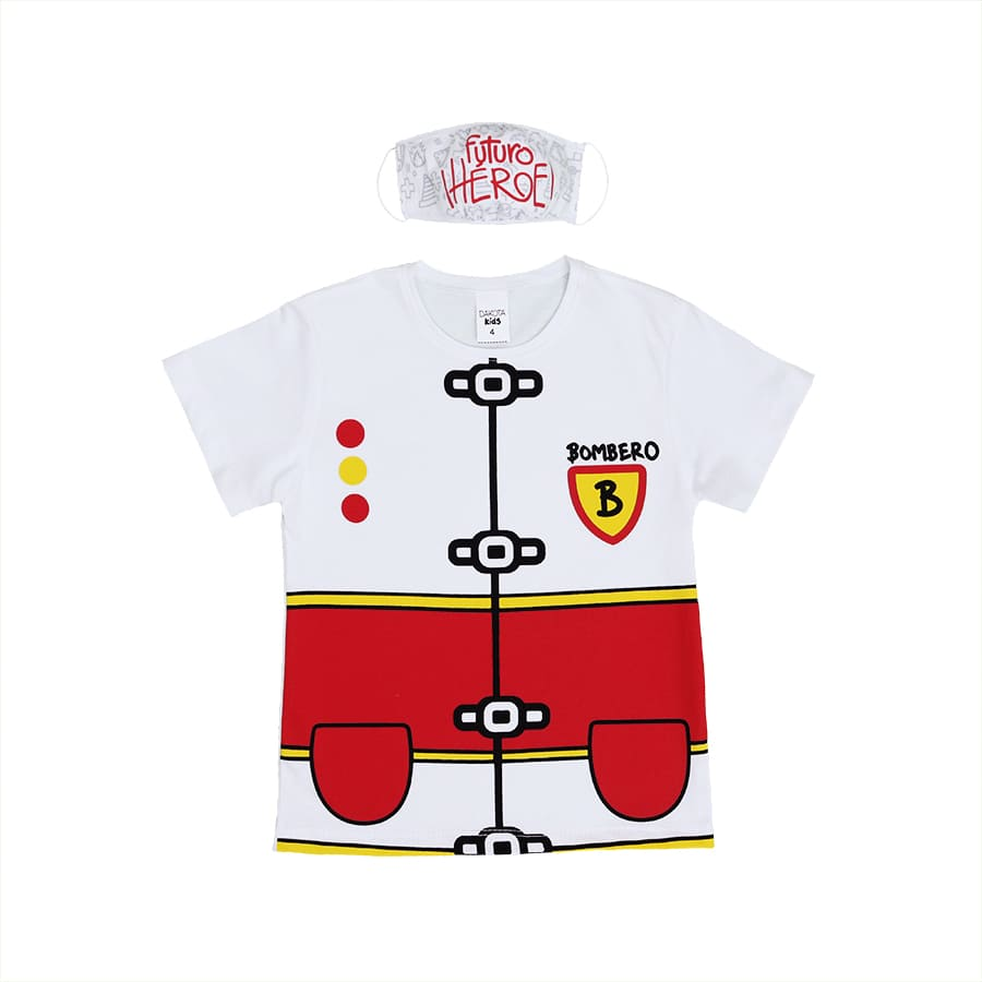 Set-DAKOTA-Camiseta---Tapaboca-Bombero--Rojo--Talla-10