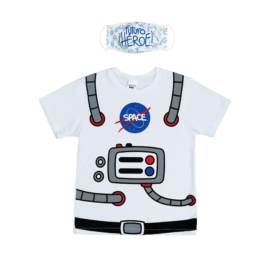 Set-DAKOTA--Camiseta---Tapaboca-Astronauta-Azul--Talla-10