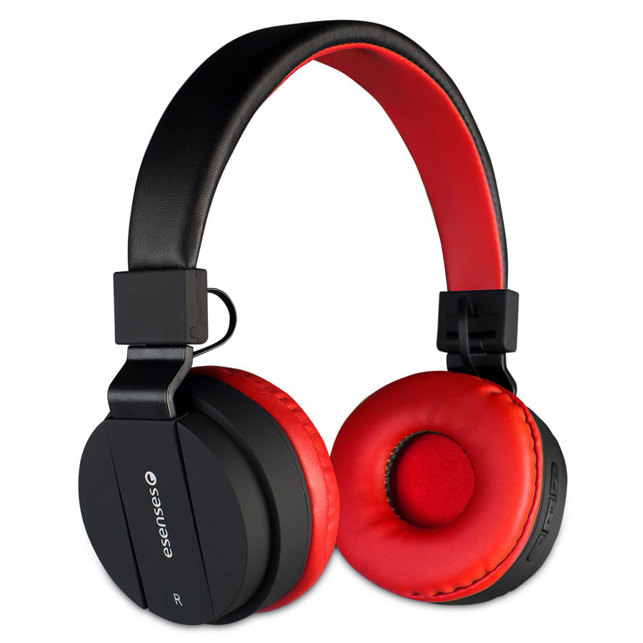 Audifonos-ESENSES-Bluetooth---Hp-2080---Rojo
